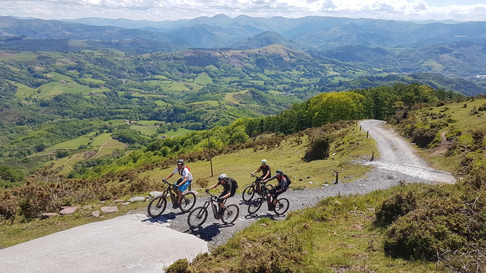 VTT électrique pays basque