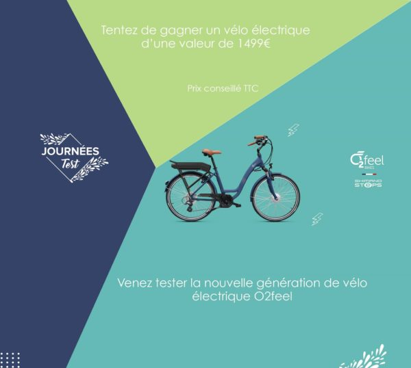 test-velo-electriques-O2 Feel
