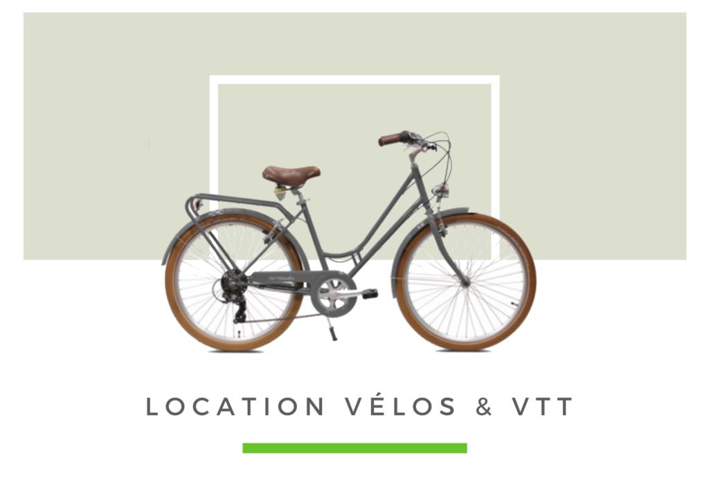location de vélos classiques