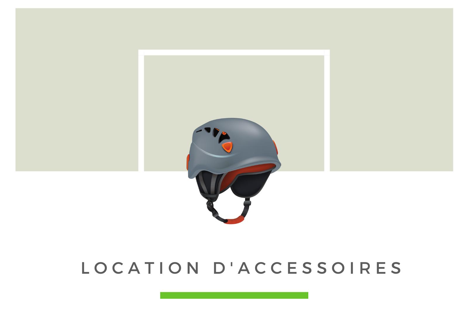 Location d'accessoires